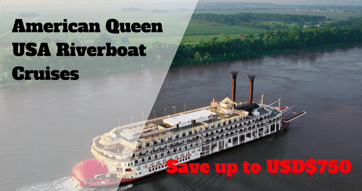 American Queen Steamboat USA cruise