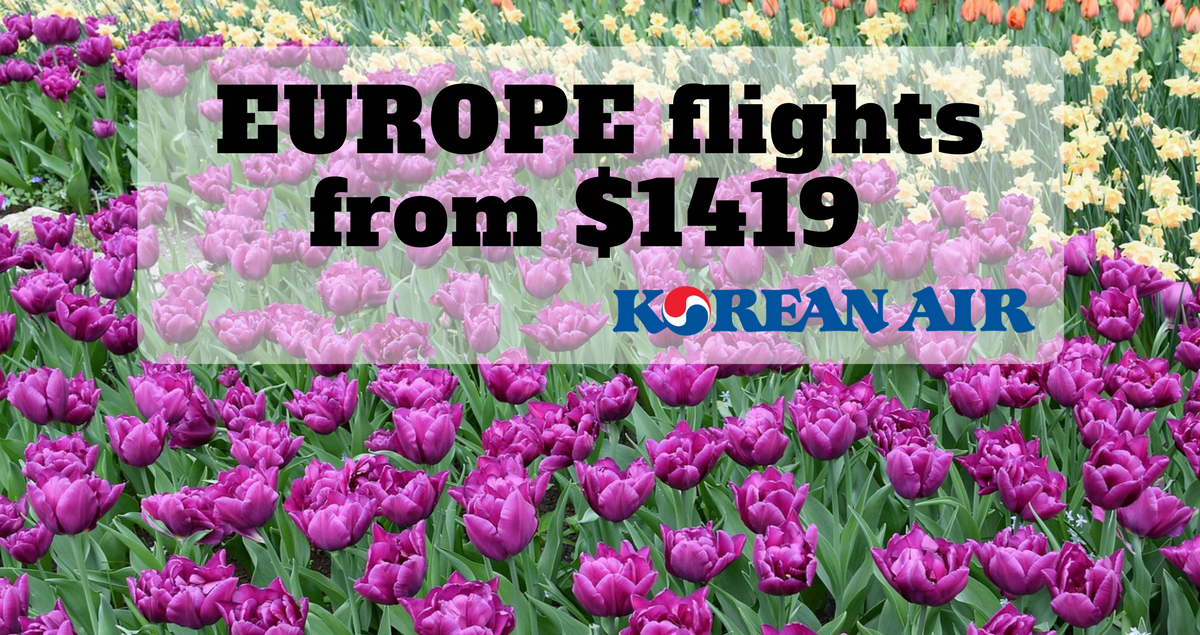 Korean EUROPE flights