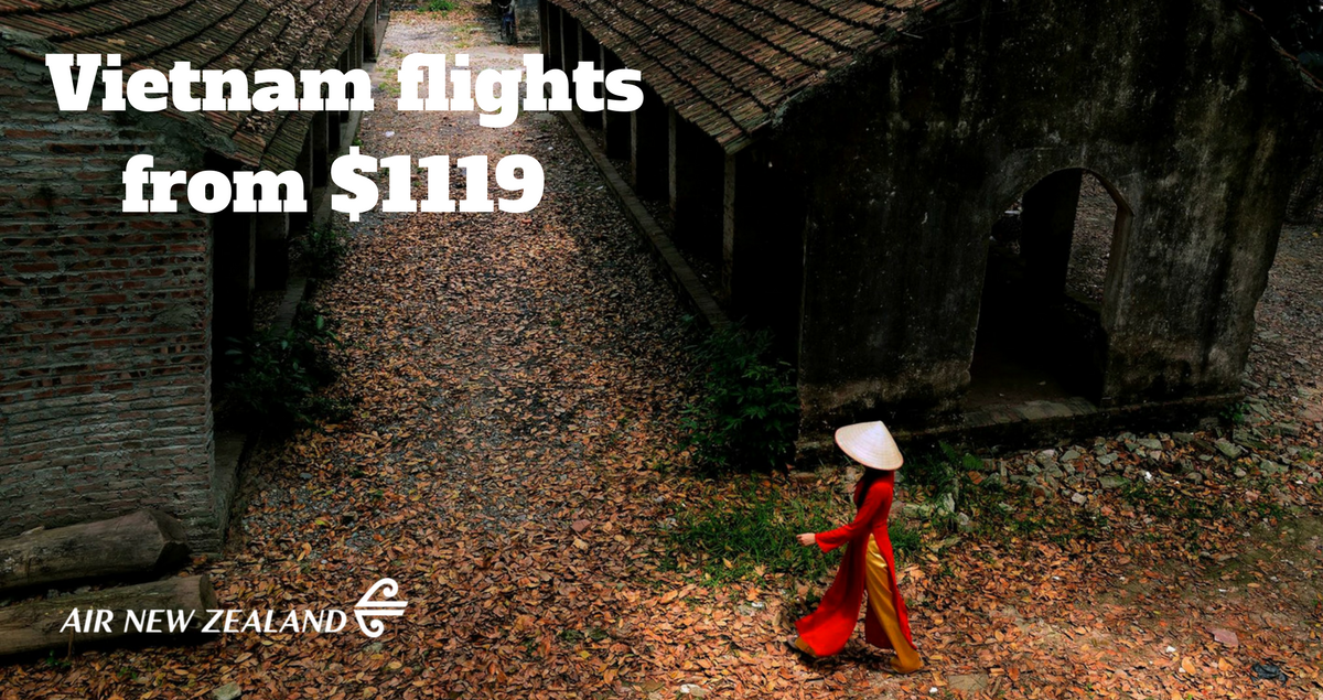 Vietnam Air New Zealand flights
