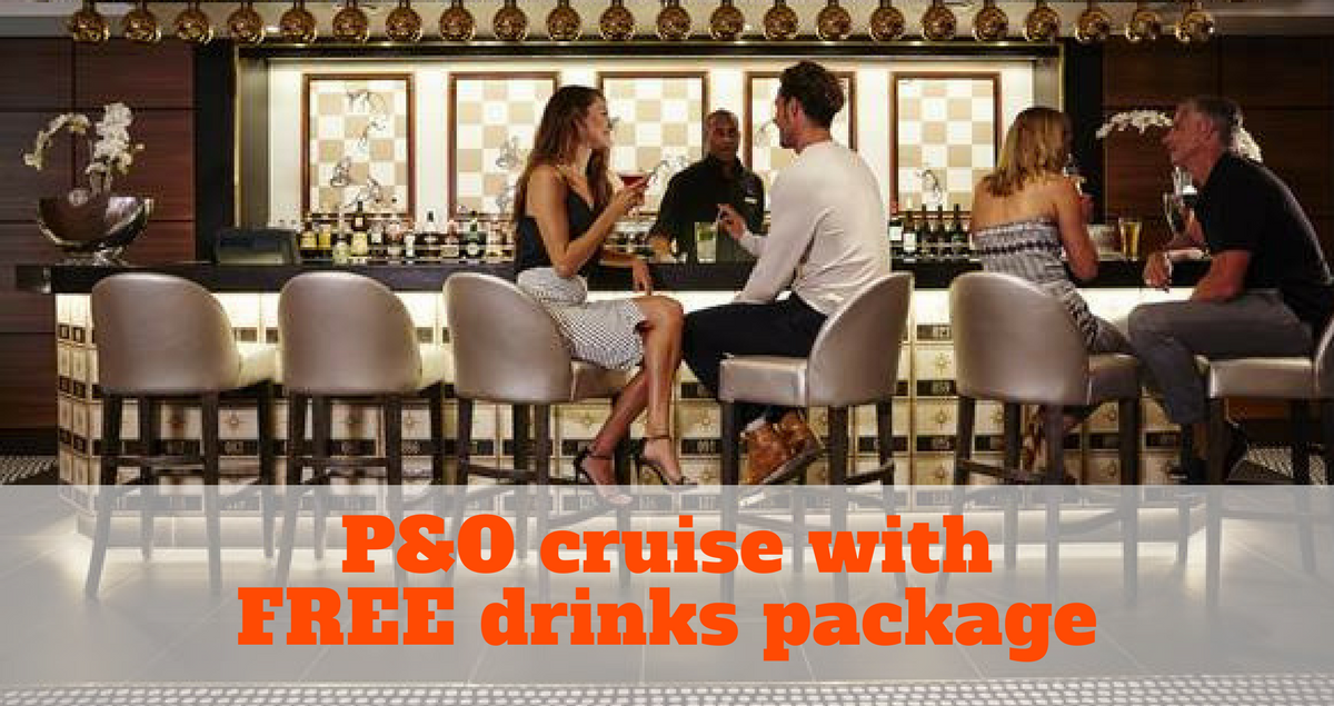 P&O free drinks package