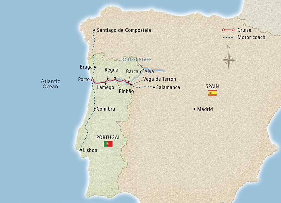 viking_cruise_Portugals_River_of_Gold_map