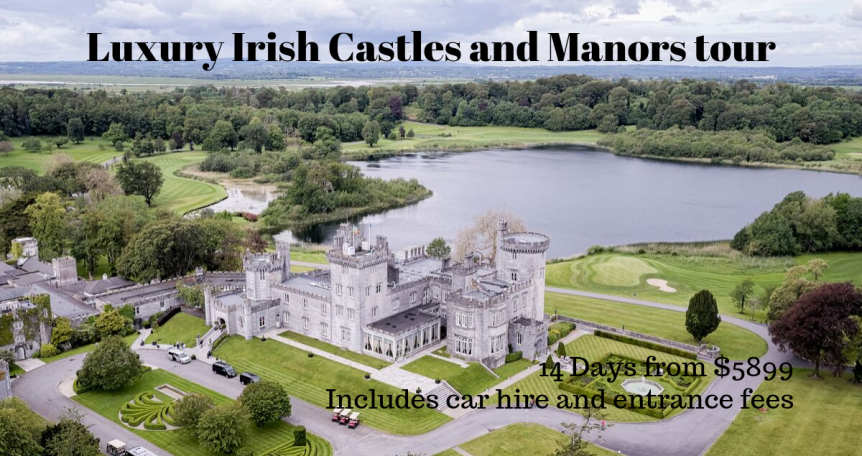 Luxury Irish Castles and Manors tour travel
