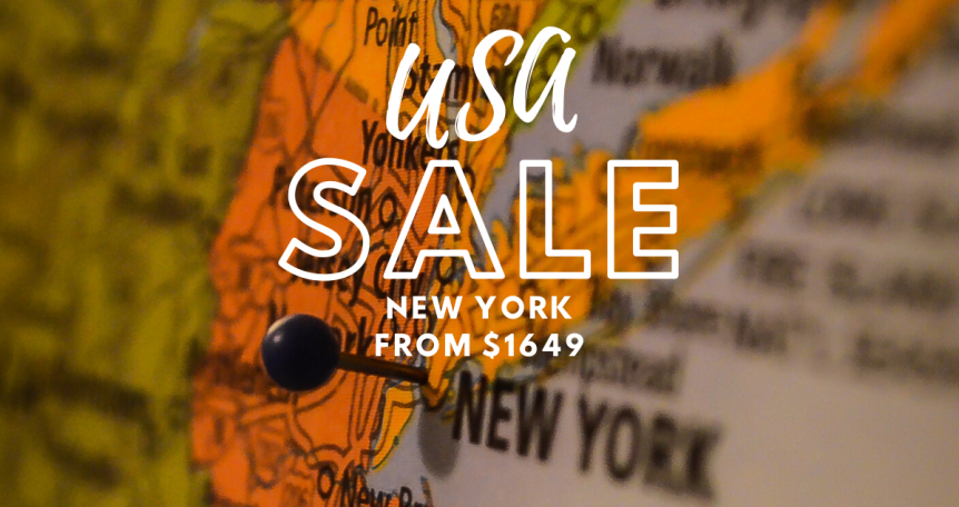 New York Airfare sale