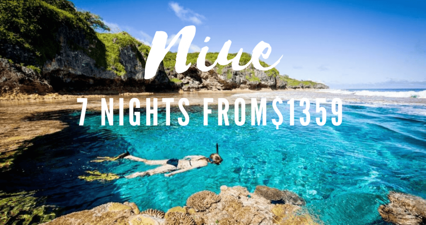 Niue Island sale air new zealand
