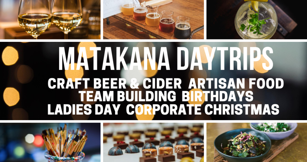 Matakana Craft Beer and Winery Daytrips