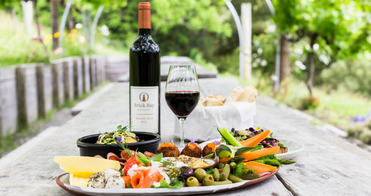 Platter and Wine Matakana 1200