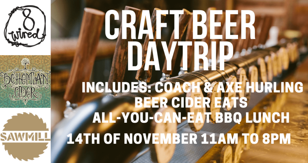 14 Nov Craft Beer Daytrip Matakana