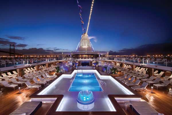 Oceania Cruises - OClass Pool