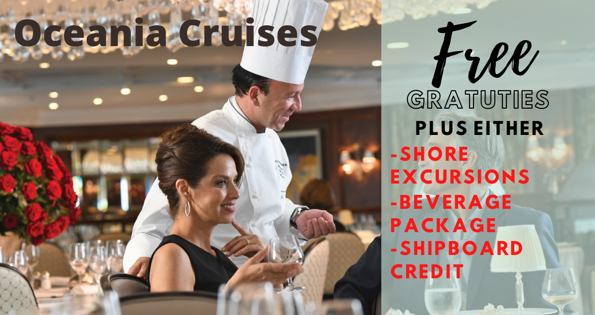 Oceania Cruises Sale