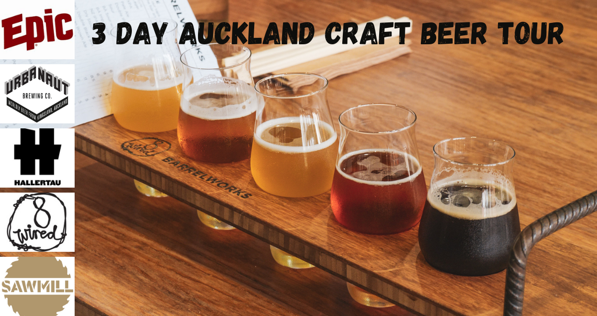 3 DAY AUCKLAND CRAFT BEER TOUR