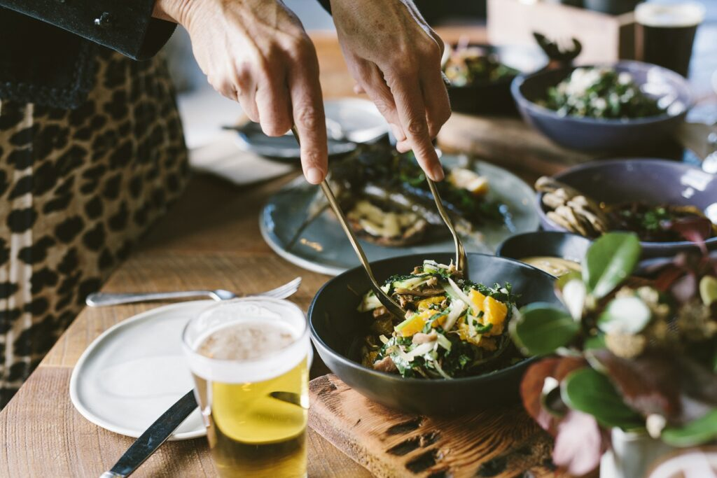Food on Craft beer tour